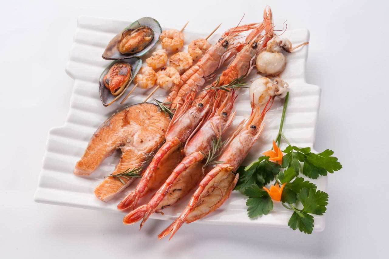 Fish seafood shellfish and snails safer eating for Fish and seafood