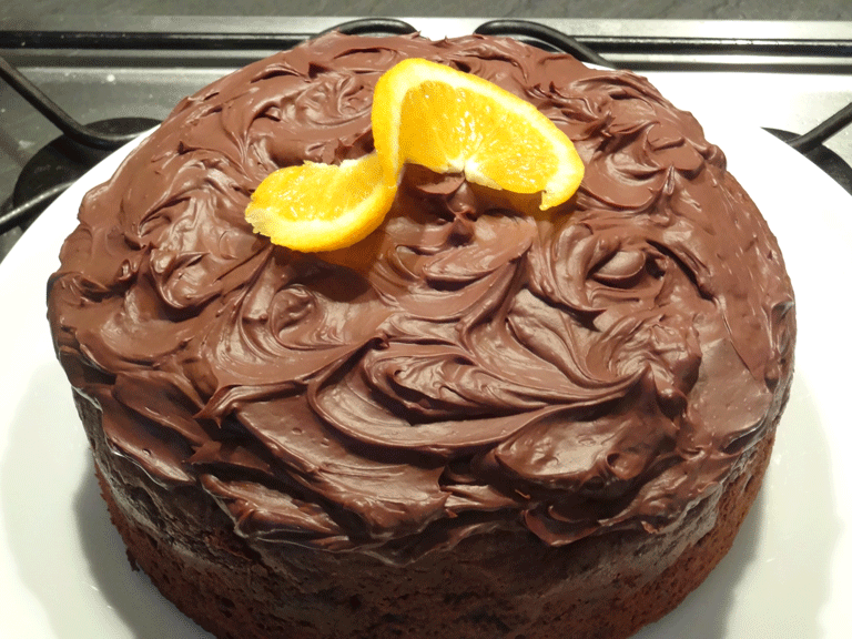 Gluten Free Chocolate Mandarin Orange Cake Recipe — Dishmaps