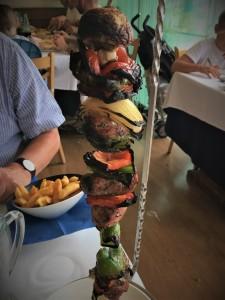 Gluten free pork skewer Lungo Mare